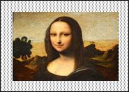 Rectangular photo with edges