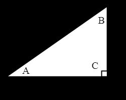 Right Angled Triangle Illustration